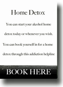 online alcohol rehab and home detox